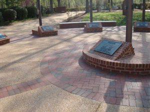 brick paver design Virginia