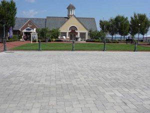 concrete paver crosswalks